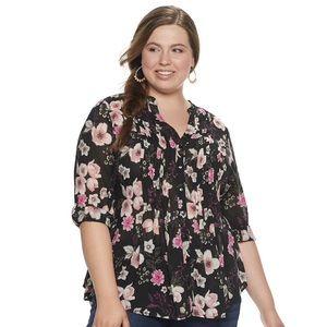 American Rag Long-sleeve blouse NWT 3X